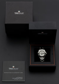 Tag Heuer Steel Automatic Wristwatch