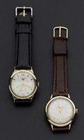 Timepieces:Wristwatch, Wittnauer & Girard Perregaux Wristwatches Runners. ... (Total: 2 Items)