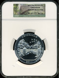 Modern Bullion Coins, 2011 25C Chickasaw Five Ounce Silver Gem Uncirculated NGC. NGCCensus: (0/0). PCGS Population (0/0)....
