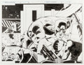 Original Comic Art:Splash Pages, Andy Kuhn and Harry Candelario Marvel Adventures #18 Pages 2and 3 Original Art (Marvel, 1998)....