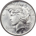 Peace Dollars, 1926-D $1 MS66 PCGS. CAC....