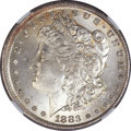 Errors, 1883-O Morgan Dollar -- Broadstruck -- MS62 NGC....