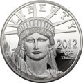 Modern Bullion Coins, 2012-W $100 One-Ounce Platinum Eagle PR70 Deep Cameo PCGS....