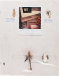 Western Expansion, Jesse James: Four Relics, as Mounted by Wilbur Zink. ...