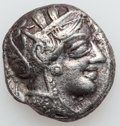 Ancients:Greek, Ancients: ATTICA. Athens. Ca. 454-404 BC. AR tetradrachm (16.54gm). ...