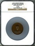 German States:Brandenburg, German States: Brandenburg. Albrecht I bronze Medal ND (1850),...