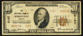 National Bank Notes:Missouri, Kirksville, MO - $10 1929 Ty. 2 The NB of Kirksville Ch. # 5107....
