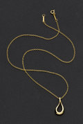 Estate Jewelry:Necklaces, Gold Necklace by Elsa Peretti for Tiffany & Co.. ...