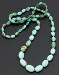 Estate Jewelry:Necklaces, Turquoise Bead Necklace. ...