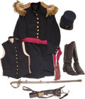 Militaria:Uniforms, Civil War Uniform Set of George Brown Eckert, 3rd United States Infantry, ... (Total: 8 Items)