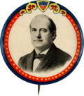 Political:Pinback Buttons (1896-present), William Jennings Bryan: Large Colorful Button....