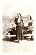Photography:Official Photos, Bonnie & Clyde: Bonnie Parker Snapshot....