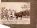 Photography:Cabinet Photos, Mounted Photograph: Rural Indiana Mail Carrier. ...