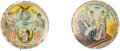 Political:Pinback Buttons (1896-present), William Jennings Bryan and William McKinley: Pro and Anti ExpansionButtons.... (Total: 2 Items)