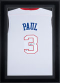 Basketball Collectibles:Uniforms, Chris Paul Signed Jersey....