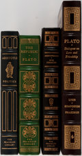 Books:Philosophy, [Philosophy]. Plato, Aristotle, and Others. Group of Four Books in Publisher's Leather. Franklin Library and Easton Press. M... (Total: 4 Items)