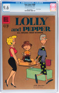 Silver Age (1956-1969):Humor, Four Color #1086 Lolly and Pepper (Dell, 1960) CGC NM+ 9.6 Off-white to white pages....