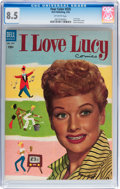 Golden Age (1938-1955):Miscellaneous, Four Color #535 I Love Lucy (#1) (Dell, 1954) CGC VF+ 8.5 Off-white pages....
