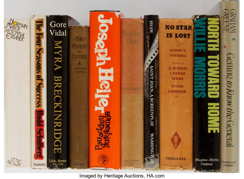 Literature Doyle Vidal Dos Passos And Others Group Of Lot