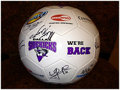 Movie/TV Memorabilia:Autographs and Signed Items, DALLAS SIDEKICKS SOCCER BALL SIGNED BY THE TEAM. Benefiting the DBA Home Project...