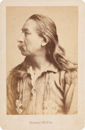 Photography:Cabinet Photos, Cabinet Card: Donald McKay Modoc War Scout, for the Government....