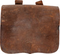 Military & Patriotic:Civil War, Exceptional Confederate Battlefield Recovered Locally Manufactured Tube Pouch....