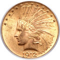 Indian Eagles, 1912 $10 MS64 PCGS....
