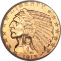 Indian Half Eagles, 1913 $5 MS64 PCGS....