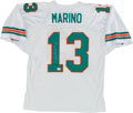 Football Collectibles:Uniforms, Dan Marino Signed Miami Dolphins Jersey....