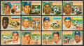 Baseball Cards:Lots, 1956 Topps Baseball Collection (205) With Stars & HoFers. ...