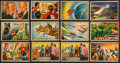 "Non-Sport Cards:Sets, 1951 Bowman ""Jets, Rockets, Spacemen"" Collection (62). ..."