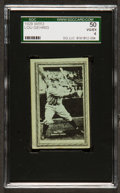 Baseball Cards:Singles (Pre-1930), 1929 W553 Lou Gehrig SGC 50 VG/EX 4 - Pop One, One Higher! ...