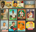 Baseball Cards:Lots, 1951 to 1970 Bowman, Bread For Health and Topps Baseball CardCollection (36). ...