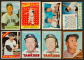 Baseball Cards:Lots, 1954 to 1967 Mickey Mantle Baseball Card Collection (8). ...
