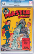 Golden Age (1938-1955):Science Fiction, Master Comics #74 (Fawcett Publications, 1946) CGC VF- 7.5 Cream tooff-white pages....