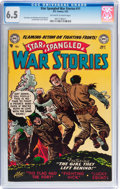 Golden Age (1938-1955):War, Star Spangled War Stories #11 (DC, 1953) CGC FN+ 6.5 Off-white towhite pages....