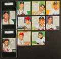 Baseball Cards:Sets, 1952, '53 and 1954 Red Man Baseball Collection (62) With Partial Sets. ...