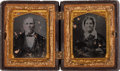 Photography:Ambrotypes, Two Unidentified Ambrotype Images. ...