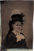 "Photography:Tintypes, Zerelda ""Zee"" James, Wife of Jesse James: A Rare Tintype Image. ..."