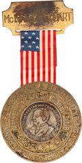 Political:Ribbons & Badges, William McKinley: Highly Unusual Manufacturer's Exemplar....