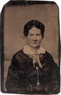 "Photography:Tintypes, Zerelda James: An Important Unpublished Tintype Image of Jesse'sWife ""Zee"". ..."