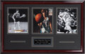Basketball Collectibles:Uniforms, Pete Maravich Signed Photograph Display. ...