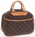 Luxury Accessories:Bags, Louis Vuitton Classic Monogram Canvas Trouville Bag. ...