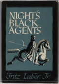 Books:Science Fiction & Fantasy, Fritz Leiber, Jr. Night's Black Agents. Arkham, 1947. First edition, first printing. Publisher's cloth with ligh...