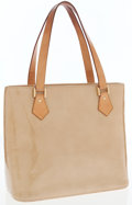 Luxury Accessories:Bags, Louis Vuitton Gold Vernis Leather Houston Tote Bag. ...