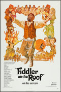 """Movie Posters:Musical, Fiddler on the Roof & Other Lot (United Artists, 1972). One Sheets (2) (27"""" X 41""""). Musical.. ... (Total: 2 Items)"""