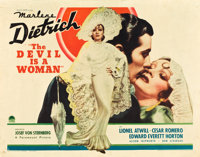 """The Devil is a Woman (Paramount, 1935). Half Sheet (22"""" X 28"""") Style A"""