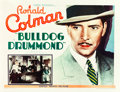 "Movie Posters:Mystery, Bulldog Drummond (United Artists, 1929). Half Sheet (22"" X 28"")....."