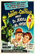 "Movie Posters:Comedy, Abbott and Costello Meet Dr. Jekyll and Mr. Hyde (UniversalInternational, 1953). One Sheet (27"" X 41"").. ..."