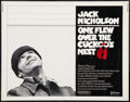 "Movie Posters:Academy Award Winners, One Flew Over the Cuckoo's Nest (United Artists, 1975). Half Sheet (22"" X 28""). Academy Award Winners.. ..."